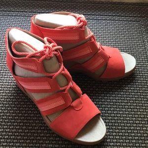 Sorel Joanie Lace wedge sandals
